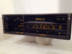 Blaupunkt Finish Line 200 classic car radio - 1980s - for Fiat, Opel, Ford, Volkswagen, Porsche and others