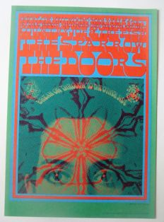 """The Doors San Francisco Family Dog  """"Break on Trough to the Other Side"""" by Victor Moscoso 1967"""