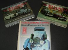 Lot of three Rolls Royce books