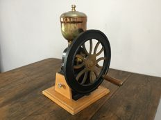 Old vintage coffee grinder