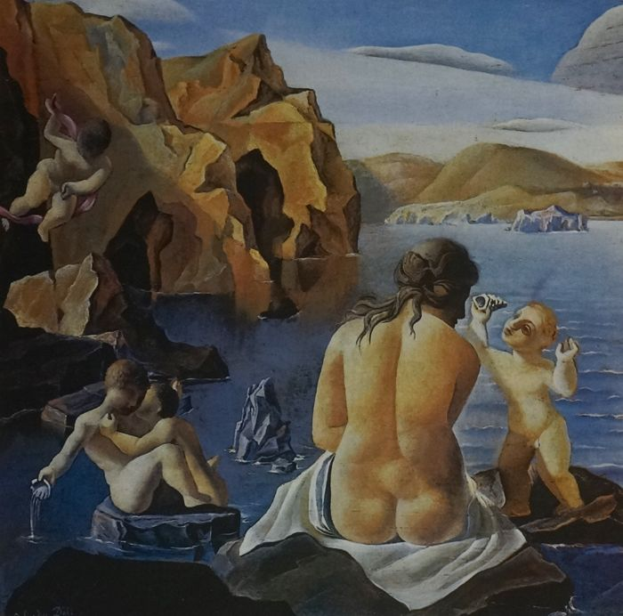 Salvador Dalí (after) - Venus and Cupids