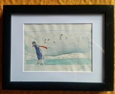 Pellejero, Ruben - Original watercolour - Corto Maltese
