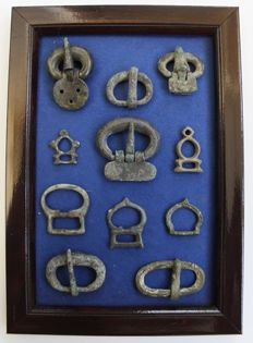 Ancient Roman buckles in the frame - 13 mm / 33 mm (11)