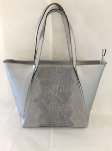 Shopping bag - 100 % leather - made in FLORENCE