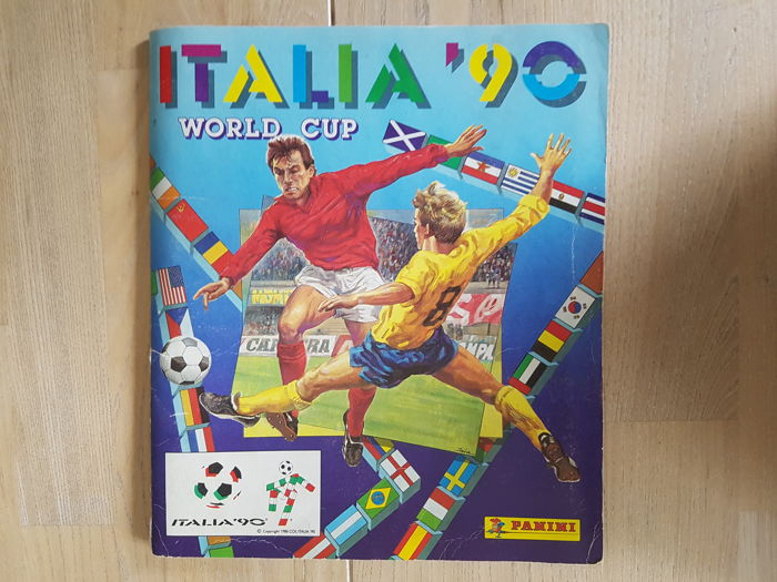 Panini - World Cup 90 - Complete album