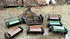 7 old tractor mowers