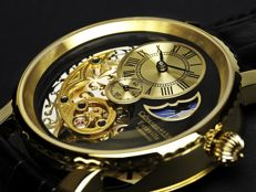 "Calvaneo 1583 Estaville ""Gold"" Automatic Complication -  Men's watch – NEW"