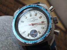 RUHLA Diver Stopp-Meister GMT Telemeter - Men's Chronograph Watch - circa 1970s
