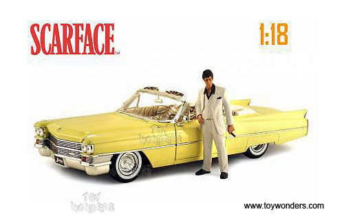 Scarface Car - 1/18 scale 1963 Cadillac Series 62 convertable and Collectable bluray