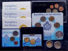 San Marino 1997/2011 – (28 Different coins)