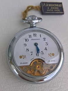 Hebdomas – 8 Days – Hand-wound pocket watch