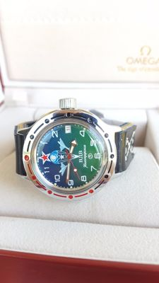 "Vostok ""Amphibia"" - Men's Automatic wristwatch in mint condition (never worn).1990's"