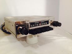 Audio sonic classic car radio from the 1960s/1970s