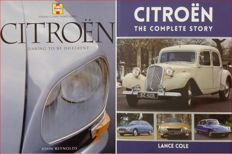 2 Books on Citroen (Citroën)