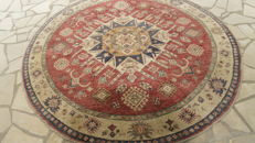 Hand-knotted carpet - Virgin wool/Oriental/Round - Diameter: 202 cm - 4.04 m²/10.8 kg - Origin: Sirvan/Year: 2011/Imported in EU/11-2011