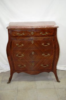 Dresser in Louis XV style - France, mid 20th century