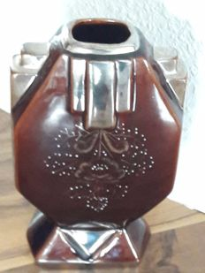 Ludwig Gies, Berlin - Art Deco ceramic vase s- marked -
