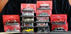 De Agostini - Scale 1/43 - Lot with 14 models: 14 x Ferrari cars