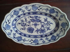 C. Teichert, Meissen - 28cm  very rare serving plate diameter ca.28cm,