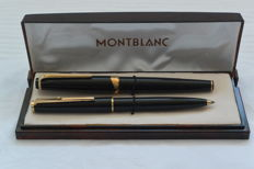 Mont Blanc Meisterstuck fountain pen no 12 - Ballpoint Mont Blanc no 380 - With Mont Blanc box
