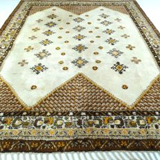 Berber - 322 x 256 cm - impressive, large eye-catcher in wonderful, virtually unused condition - with certificate