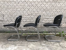 Gaston Rinaldi - Three Sabrina model chairs