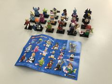 Collectible Minifigures - 71012 - The Disney Series - Complete set of all 18 minifigures