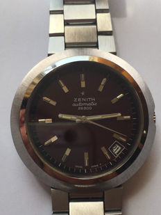 "Zenith ""flying saucer"" – iridescent garnet dial – made in the '70s-'80s"
