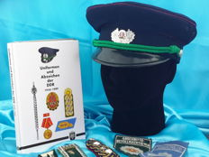 Germany - Interesting knowledge for your collection, Book, visor Cap and palets