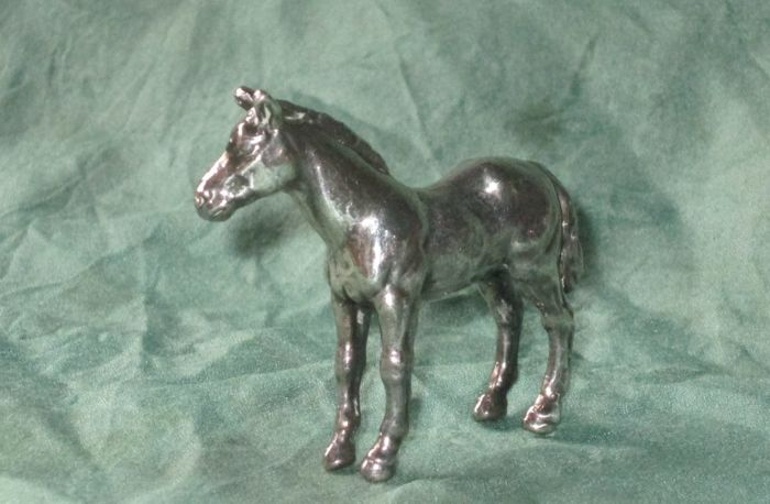 Sterling silver horse