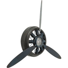 92 (!) cm wall clock propeller - quartz drive - includes new battery