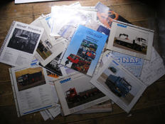 GINAF ARCHIVE. Collection of 35 Brochures/Sheets
