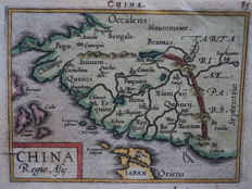 China; A. Ortelius / Ph. Galle - China Regio Asie - 1588
