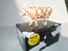 Cow Parade - Cowparade - Vaca con Cinta - Medium - Resin