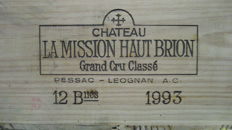 1993 Château La Mission Haut Brion, Grand Cru Classé - 12 bottles in OWC