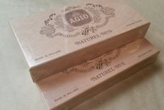 2 Sealed boxes of Dutch Agio Nr 51 cigars+ Opened box Cogétama corona cigars. Sigaren