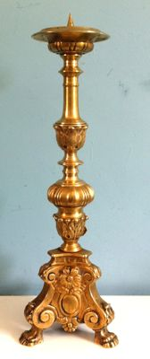 Unique Altar candlestick - France (Versailles) - Late 18th century