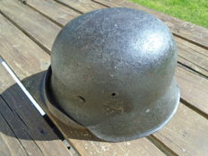 German helmet, Model 42, complete WW2