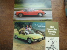 Porsche 914 plus Family tree booklet