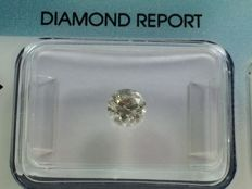 Brilliant cut diamond 0.50 ct K SI 1 with IGI certificate