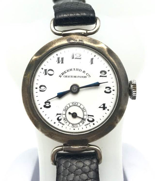 Eberhard & Co Vintage - Chaux de Fond - silver Ladies watch - ca. 1920