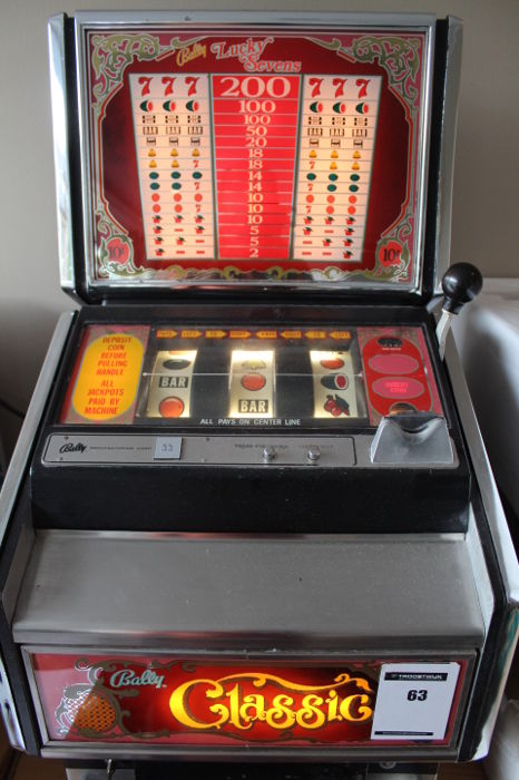 Bally 808 slot machine