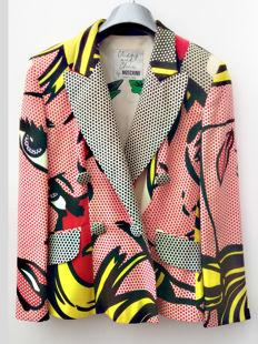 Moschino  - Cheap and Chic blazer / jasje met Roy Lichtenstein print