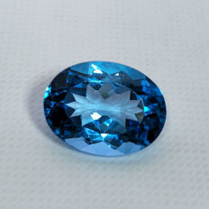 Swiss Blue Topaz - 10.94 ct