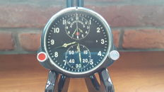 Poljot Chronograph Aviation - Without a reserve price. Original Russian ACS-1  military MIG aircraft watch, USSR army 1960's .