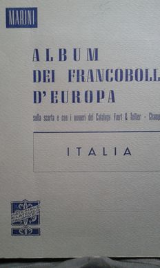 Republic of Italy, used collection from 1945-1970, complete for ordinary and service mail