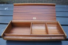 Advertising material - Esso - vintage wooden money case - 1950s / 1960s