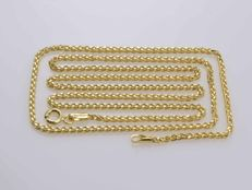Gold Necklace. Chain - 55 cm • No reserve price •