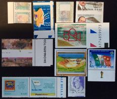 Italy, Republic 2002-2015 – Lot consisting of 10 variations