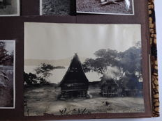 Indonesia; Collection of 5 Indonesian family photo albums - 1920s and 1930s